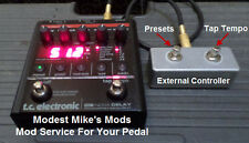 TC ND-1 Nova Delay or NM-1 Mod Service - Send Us Your Pedal!