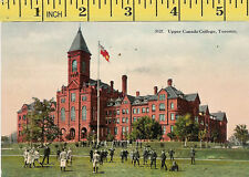 Upper Canada College, Toronto vintage rugby postcard, dated  28/8/1915