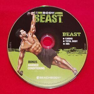 BODY BEAST - BEAST: Cardio + Total Body + Abs + Bonus Hammer Conditioning - DVD