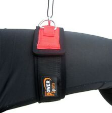 Top Gym Cable Machine Attachment Support THIGH STRAP with Double D-rings
