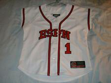 ESPN 1 White Baseball Zone Equipement Jersey Women's Small used