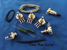DIY Guitar Upgrade Kit - Complete Kit - PIO Caps Fit Epiphone Gibson Les Paul