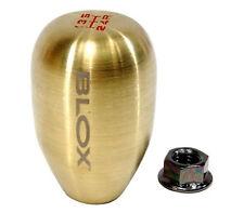 BLOX Racing Bronze Type-R Counterweight Shift Knob 10x1.25mm 5-speed Tear Drop