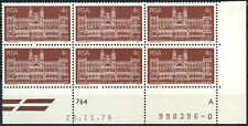 South Africa 1977 SG#413 Transvaal Supreme Court MNH Block #E9360