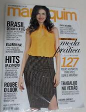 MANEQUIM MAGAZINE 684 BRAZIL  W/ SEWING PATTERNS