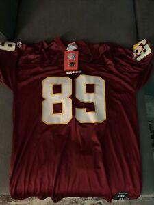 NWT Santana Moss WASHINGTON REDSKINS REEBOK NFL JERSEY XL
