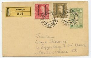 Bosnien & Herzegowina GA ZuF R Postkarte Posusje Eggerberg 1917