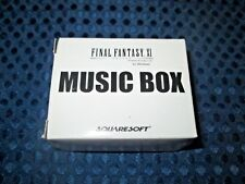 RARE! NEW Final Fantasy XI Limited Music Box Silver ver Prelude Theme of Crystal
