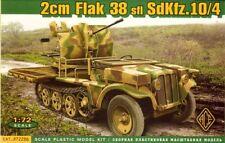 Ace 1/72 2cm Flak 38 sfl Sd.Kfz. 10/4 # 72286