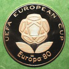 """Italia 80 - Medaglia  Promozionale  """"Europei di calcio 1980"""" - Italcambio - MI"""