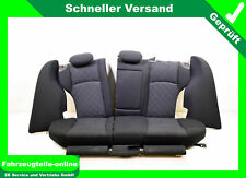 Mercedes C Klasse S203 Sitze Rücksitzbank Rücksitze Stoff schwarz anthrazit