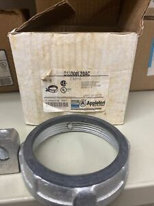 """Appleton GIB300L20AC - 3"""" inch insulated grounding bushing industrial malleable"""