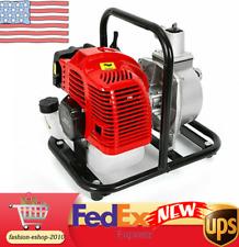 2 Stroke 1.7Hp Water Pump 43Cc Gas Gasoline Engine Petrol Water Transfer Pump Us