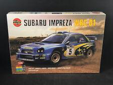 Airfix Subaru Impreza WRC 01 1:24 Scale Plastic Model Kit 07406 New in Box