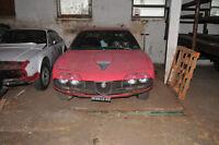 Alfa Montreal zum Restaurieren. Motor läuft, deutsche Zulassung