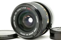 【EXC+++++】 Canon FD 24mm f/2.8 S.S.C SSC Wide Angle SLR MF Prime Lens From JAPAN