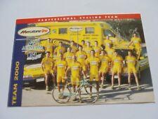 wielerkaart 2000  team mercatone uno marco pantani