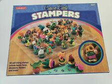 Lakeshore Cutest Little Stampers 48 self inking stamps bears, bugs, dino, flower