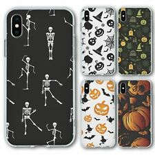 For iPhone X Xs Silicone Case Cover Halloween Group 4