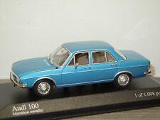 Audi 100 Saloon 1969-75 - Minichamps 1:43 in Box *34173