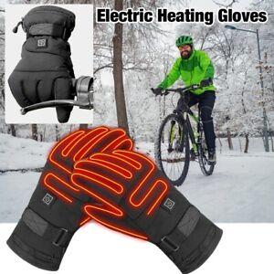 Gant chauffants moto à pile, imperméable hiver fonction tactile FR M / L / XL