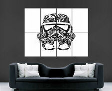 Stormtrooper Guerre stellari Poster Arte Astratta Immagine stampa Foto Wall Art Film MOV