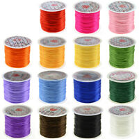 50 yard Elastic Beading Thread 1mm Stretch String Cord Thread for Jewelry Making