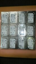 "Lot of (12) Seagate 500 GB 3.5"" Desktop Hard Disk"
