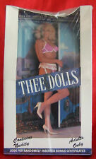 Thee Dolls Centerfold Trading Cards Sealed Box Dollhouses Of America Sexy 1992