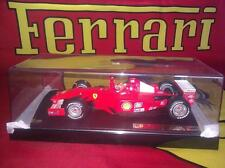 Hot Wheels 1/18 2001 F1 Ferrari Schumacher Champion Edition + Marlboro Decals