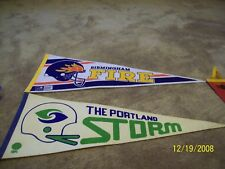 WFL The Portland Storm Vintage Football Pennant