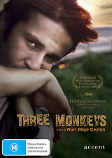 Three Monkeys (DVD) - ACC0131 (limited stock)