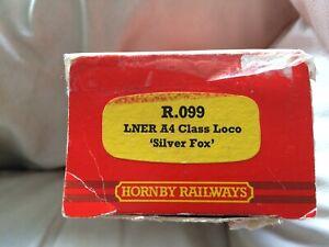 LNER A4 Silver Fox