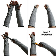 1 Pair Cut Resistant Arm Sleeve Anti-Cut Oversleeve Kevlar Hand Protection Cuff