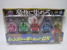 Power Ranger Kaizoku Sentai Gokaiger Ranger Key Series Set DX Bandai Japan