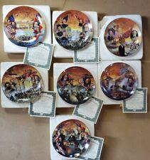 Bradford Exchange Battles Of The American Civil War Collector Plate Set Of 7
