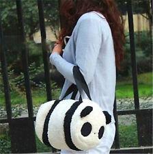 FD4153* Large Cute Soft Plush Panda Handbag Travel Storage Shoulder Zipper Bag