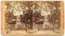 2 Stereoviews  Independence Hall or State House  Philadelphia by Cremer 1870s