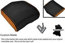 ORANGE & BLACK 08-12 CUSTOM FITS YAMAHA 600 YZF R6 REAR SEAT COWL PAD COVER