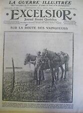 WW1 ARMEE RUSSE GALICIE BELGIQUE ROI ALBERT EN FAMILLE EXCELSIOR NOVEMBRE 1914