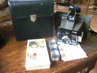 Vintage Polaroid Colorpack II Land Camera with Flashbulbs; Case & Papers