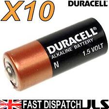 10 DURACELL N LR1 MN9100 E90 AM5 KN Alkaline Batteries