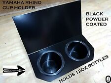 Yamaha Rhino 2 Cup Drink Holder Black powder coated Aluminum