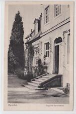 AK Herrnhut, Vogtshof, Gartenansicht, 1900