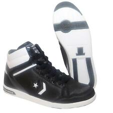 Da DONNA RAGAZZA CONVERSE ALL STAR NERO BIANCO LADY ARMA HI formatori Boot taglia UK 5