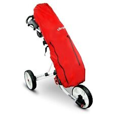 CLICGEAR OVERSIZE / WATERPROOF GOLF BAG RAIN COVER / GENUINE CLICGEAR / RED