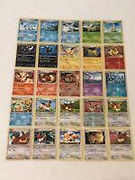 Pokemon Cards Lot of 25 Eeveelutions Cards Eevee Vaporeon Flareon Holo