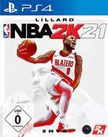 NBA 2K21 (PS4) (NEU & OVP) (UNCUT) (Blitzversand)