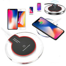 Wireless Charger Qi Fast Charging Pad Dock Base For Samsung, iPhone, Smartphones