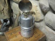 Vintage Antique Miners Carbide Lamp Uncle Sam 8 hr. Hand Lamp